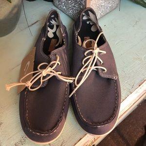 Grey Olukai Heleuma Mesh Women's Casual Shoe